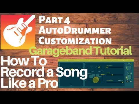 Garageband 10: How To Record A Song Like a Pro - PART 4 AUTODRUMMER, Presets you can trust