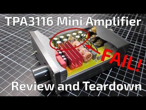 Ebay 'Breeze Audio' TPA3116 Mini Amplifier Review