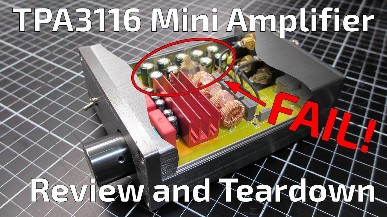 Ebay Breeze Audio Tpa3116 Mini Amplifier Review Youtube 2x50w Stereo Class D Power Circuit Board