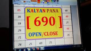 25-09-2020  - Kalyan open to close pana