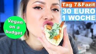 30€/Woche Vegan Challenge Tag7 und Fazit - was ist übrig? was habe ich gelernt? | #yummypilgrim