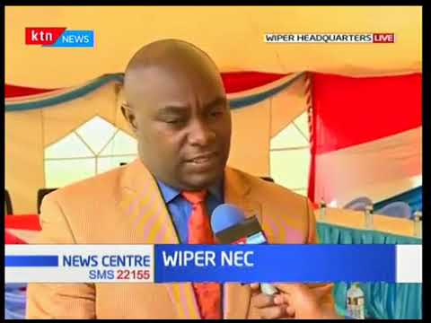 Wiper party holds it's first NEC after Raila Odinga's controversial swearing-in ceremony