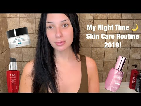 My Current Night Time Skincare Routine (Anti Aging!) | 2019