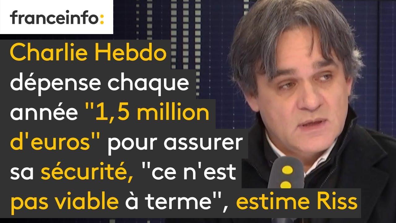 """Charlie Hebdo dépense chaque année """"1,5 million d'euros"""" pour assurer ma sécurité"""