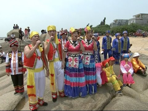 Ethnic Zhuang People Celebrate Traditional Song Festival in South China
