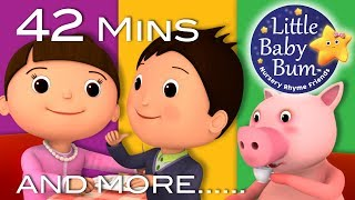 Jack Sprat | Plus Lots More Nursery Rhymes | 42 Minutes Compilation from Little Baby Bum!