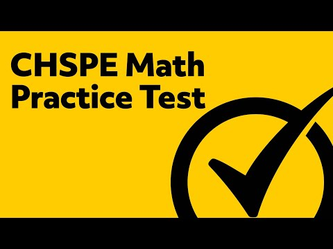 Free CHSPE Math Practice CHPSE Study Guide YouTube