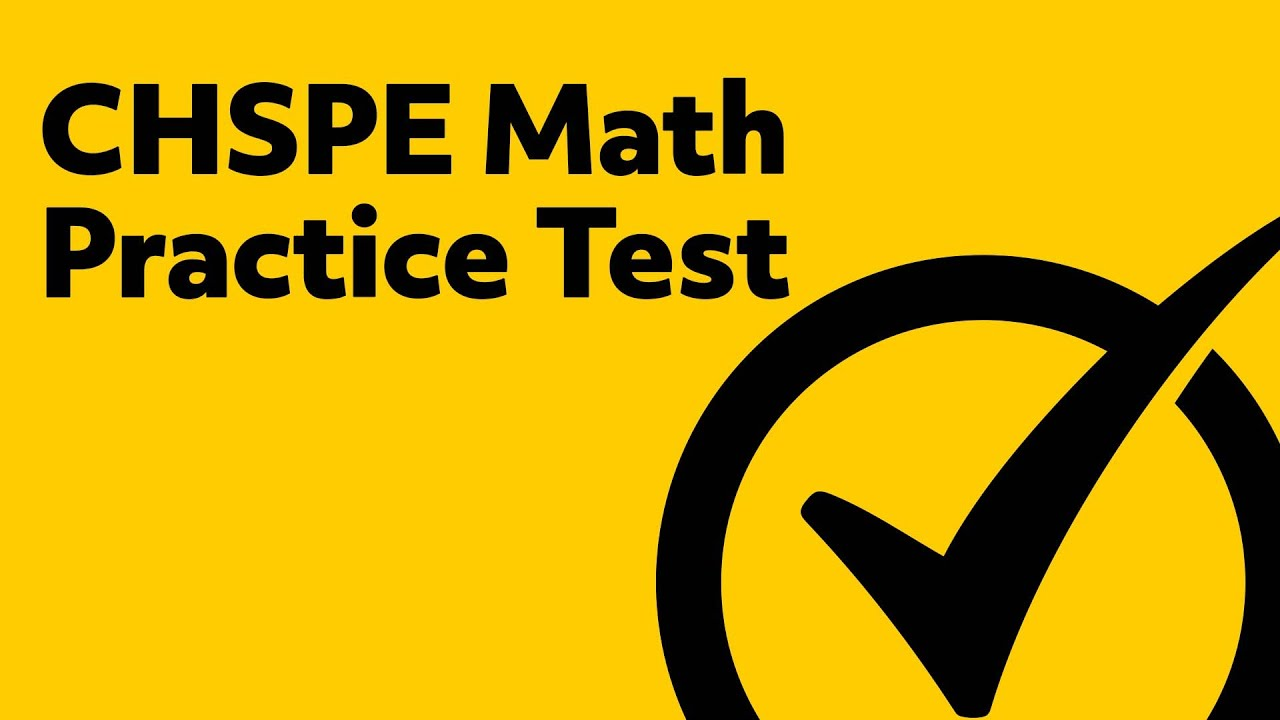 CHSPE Study Guide | Free CHSPE Practice Test
