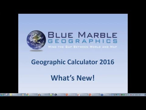 Geographic Calculator 2016 - Whats New in 2016!