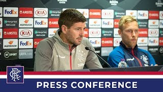 PRESS CONFERENCE | Gerrard and Arfield | 18 Sep 2019
