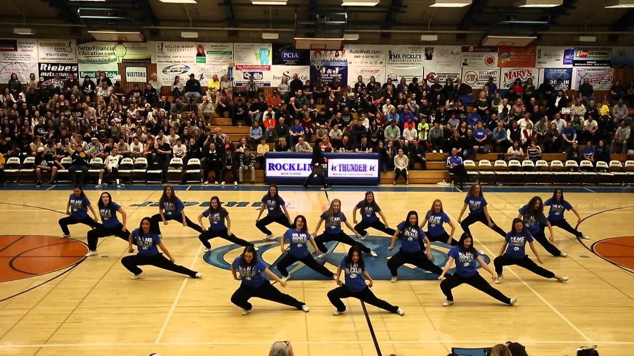 Rocklin High School Dance Team Varsity Hip Hop 011014 ...