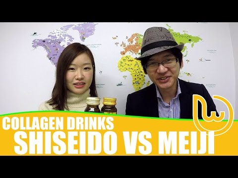 Collagen Drinks: Shiseido vs Meiji