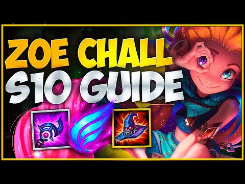 ZOE GUIDE - Season 10 CHALLENGER (BEST ZOE NA)-IN DEPTH GUIDE On ZOE - Part 1 Of 2(Matchups/Hedging)