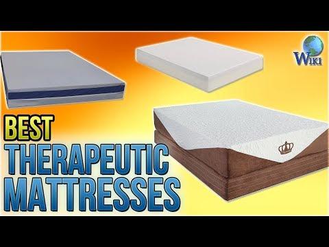 7 Best Therapeutic Mattresses 2018