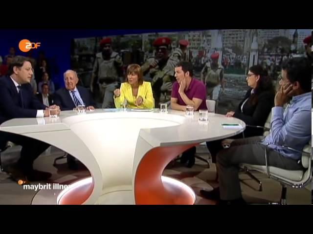 Ägypten zwischen Glaube und Gewalt - Hamed Abdel-Samad bei Maybritt Illner