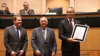 Sessão Especial comemora 45 anos da Federação Catarinense de Judô