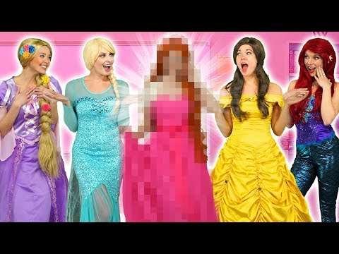 WHO IS THE NEW DISNEY PRINCESS? ARIEL, RAPUNZEL, ELSA, JASMINE AND BELLE FIND OUT! Mp3