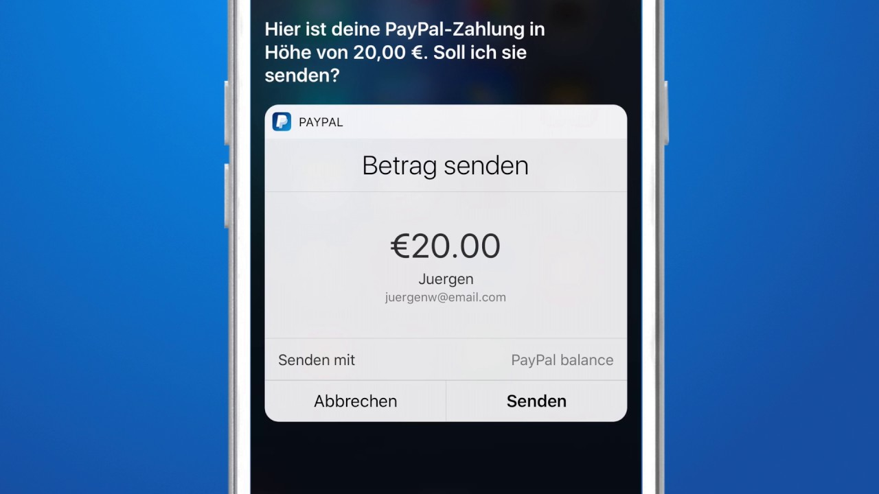 how to cancel money sent via email paypal