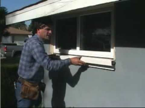 Window Sill Repair Youtube