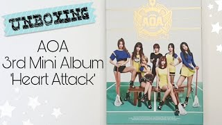 [UNBOXING] AOA  - 3rd MINI ALBUM 'HEART ATTACK'