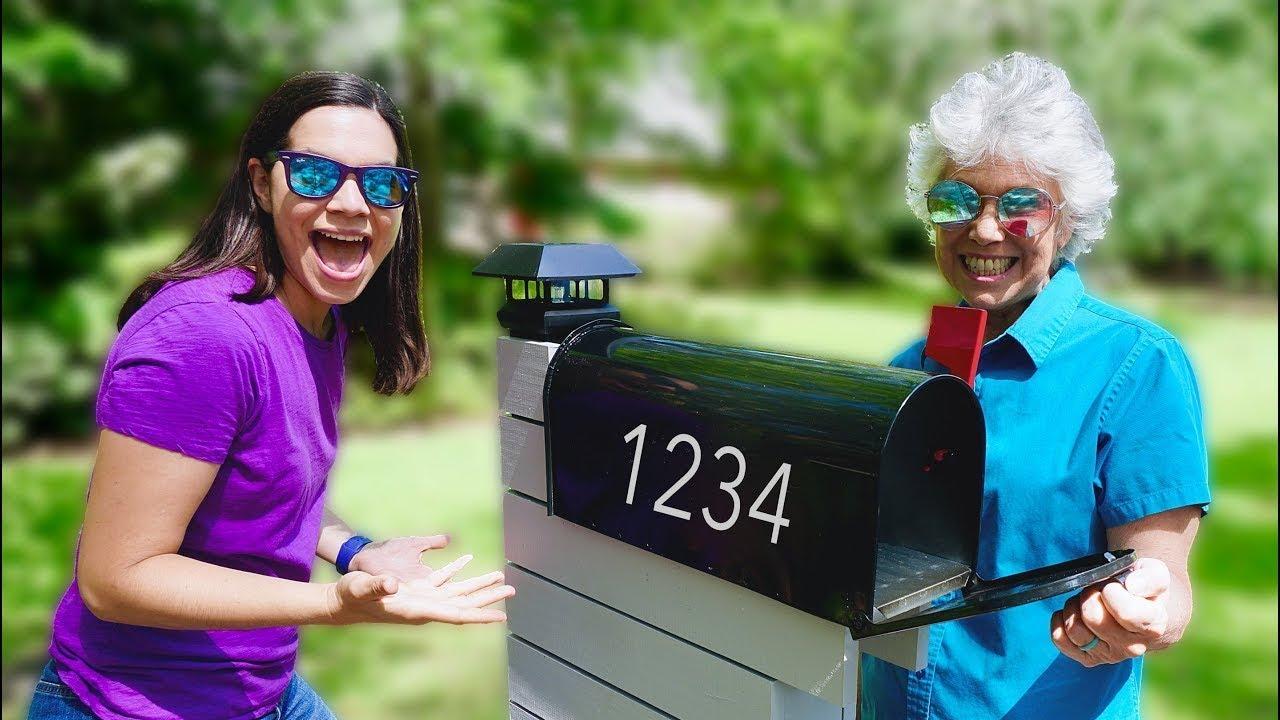 Mother & Daughter Make a Modern Mailbox!