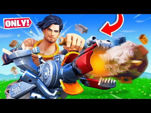 The RECYCLER *ONLY* CHALLENGE in Fortnite! (IMPOSSIBLE)