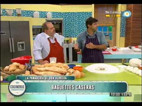 Baguettes caseras Parte 1