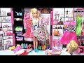 Barbie doll clothes dresses dress up pink bedroom dream house Barbie and Ken morning बार्बी कपड़े