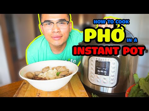 Bone Broth Chicken Pho with Grain Ramen Noodles