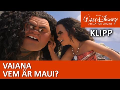 Vaiana | Lär känna Maui - Disney Sverige