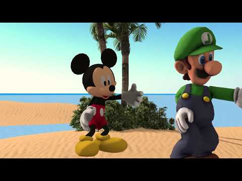 Mickey Mouse Learns Friendship with a Tiger #Mickey #MickeyMouse
