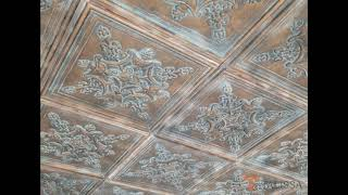 TD07 Faux Tin Ceiling Tile in Weathered Copper - DIY Home Decor