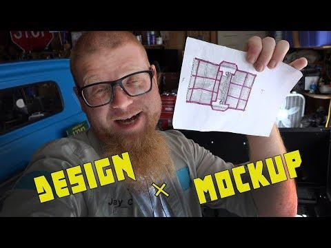 Building an Aluminum Bed Floor for C10 - Design + Mockup
