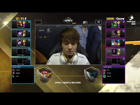 SK Telecom T1 S vs Samsung Galaxy Ozone | Game 1 Grand Finals SK Telecom LTE-A LoL Masters 2014