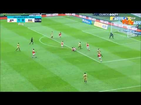 Santa Fe vs Rionegro (2-2) Liga Aguila 2019 I   Fecha 8