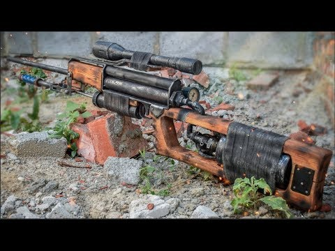 HOW TO MAKE TICHAR FROM METRO 2033 DIY