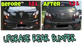 Upgrade Bumper Agya 1 2 Cara Ganti Bumper Agya Youtube