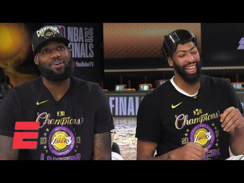 [FULL] LeBron James & Anthony Davis interview following 2020