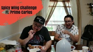 Spicy Wing Challenge ft Primo Carlos
