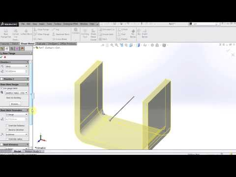 how to make a metal cone piece