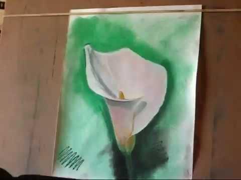Blackjack calla lily