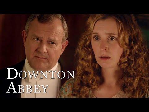 Robert Confronts Edith   Downton Abbey