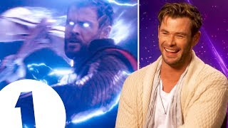 """I got real tingles!"" Avengers: Endgame's Chris Hemsworth on Thor's greatest moments."