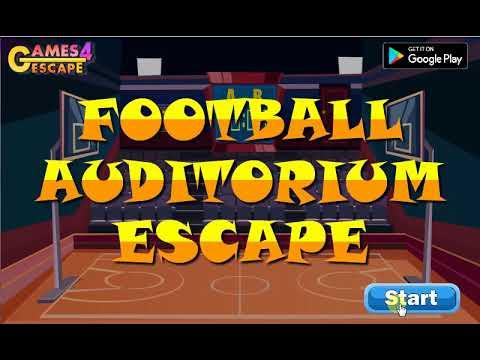 Football Auditorium Escape Walkthrough[G4E] |