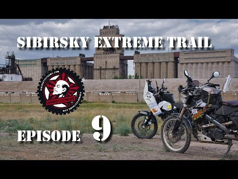 SibExTrail 2012 - Episode 09 - Kazakhstan 2 - riding to Astana