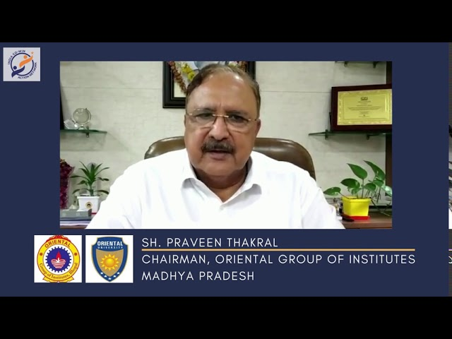 Y4AB Messages from Esteemed Institutional Partners Sh Praveen Thakral, Chairman, Oriental University