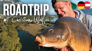 ROADTRIP mit Christian Wolf | Karpfenangeln an 4 Gewässertypen | Fluss, Kanal, Stausee, Baggersee