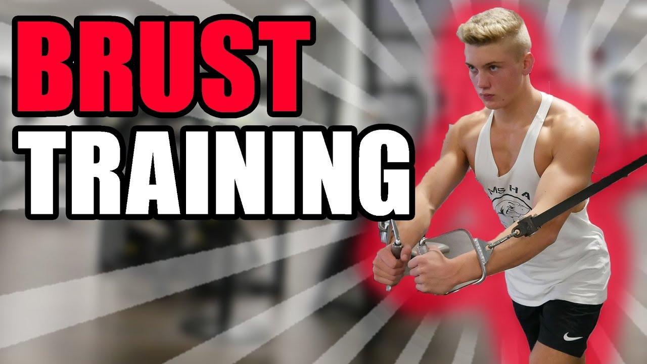 Mein BRUST-Training (Obere & Untere Brust) | Jannik