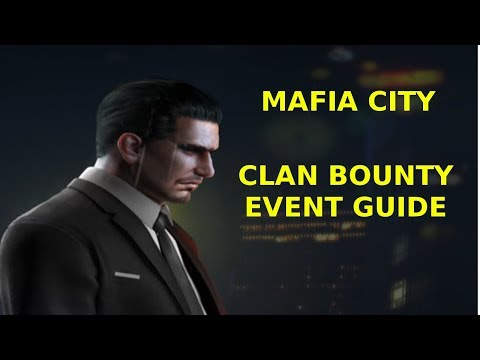 Mafia City - Clan Bounty Event Guide