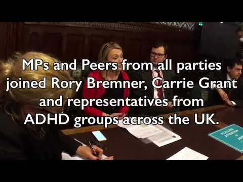 Jo Platt MP opens the new All Party Parliamentary Group for ADHD